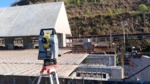 Figura 03- Pátio de Biomassa - Aplicação da topografia na Construção Civil