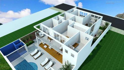 Projeto Arquitetônico 3D